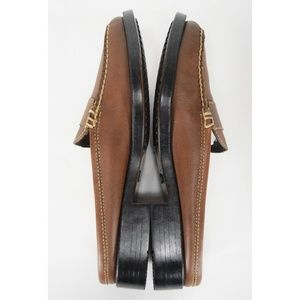 Bass Shoes - Weejuns Bass Peggy Women's Brown Penny Loafers 7.5